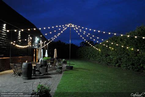 hire for outsidechristmas ligh festoon lights hire oakwood events