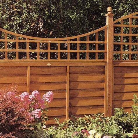 2ft Trellis 2ft High Grange Bow Top Presure Treated Trellis Elbec