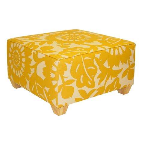 Home Decorators Ottoman Home Decorators Collection Georgetown Sungold Accent Ottoman 537gersung The Home Depot