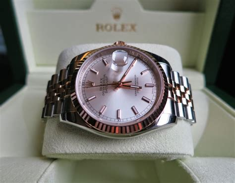 Rolex Oyster Silver Rosegold twc sold rolex oyster perpetual datejust gold