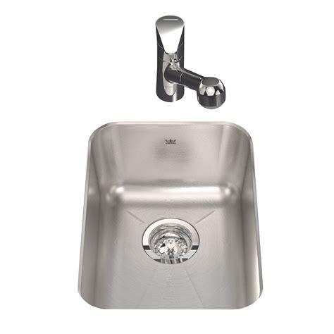 stainless steel undermount bar sink shop kindred single basin undermount stainless steel bar
