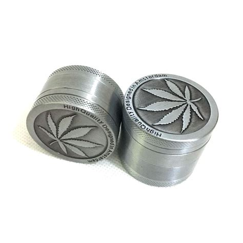 3 layer aluminum mini herb leaf grinder the green wagon