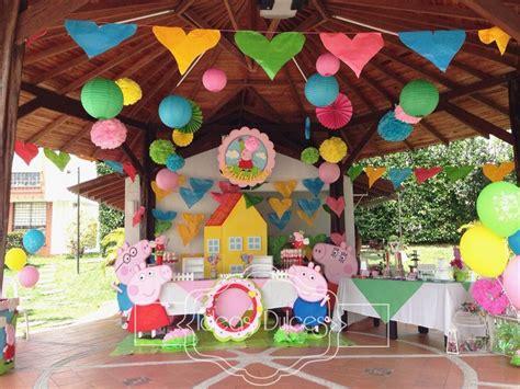 peppa pig fiesta de fiesta tematica de peppa pig para el cumplea 209 os de gabriela en armenia ideas dulces