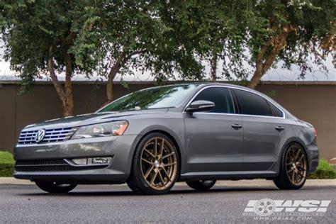 Rims For Volkswagen Passat by Volkswagen Passat Custom Wheels Gianelle Monaco 20x Et