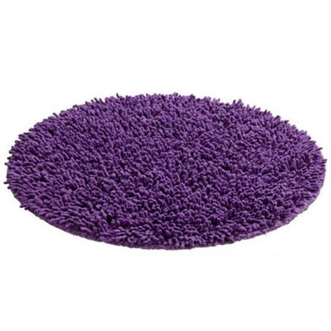 purple bath mats rugs wenko tropic shaggy bath mat purple 19266100 at plumbing uk
