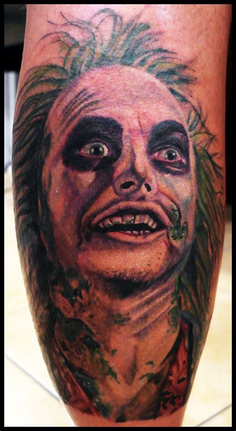 tony tattoo beetlejuice by tony nguyen tattoos
