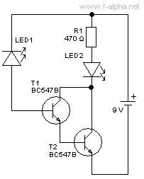 darlington transistor als schalter f alpha net experiment 14 led als lichtsensor