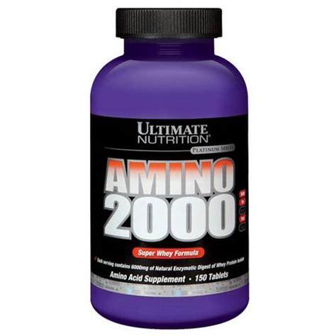 Ultimate Nutrition Amino 2000 330 Tabs 330tabs Un Amino 2000 jual amino 2000 ultimate nutrition 330tabs