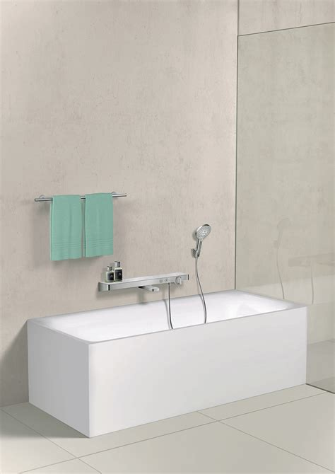 Hansgrohe Selecta Shower by Showertablet Select 700 Thermostatic Shower Mixer With Shower Showertablet Select 700
