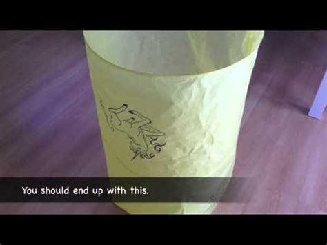 How To Make A Paper Sky Lantern - how to make a sky lantern