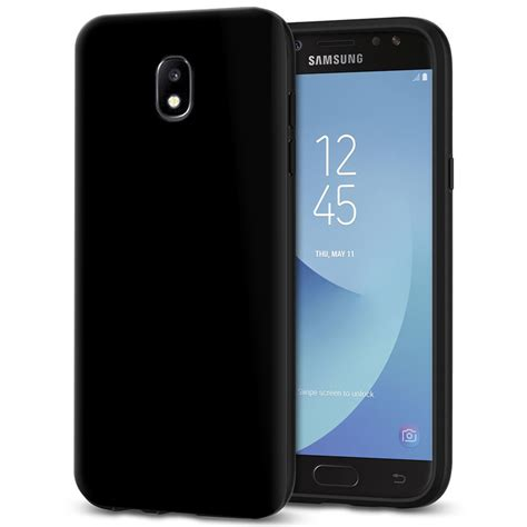Black Samsung J5 Pro flexi slim gel for samsung galaxy j5 pro black