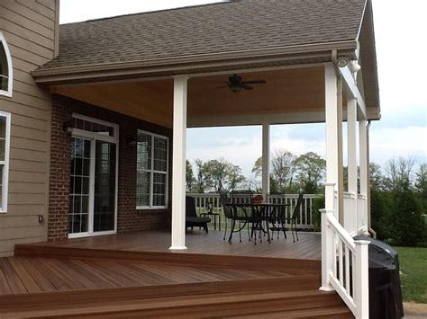 dayton cincinnati deck porch  outdoor spaces builder