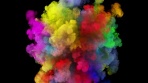 color powder vibrant color powder explosion 4k matte alpha included