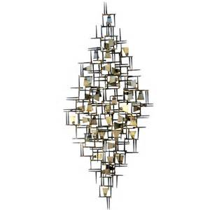Design Style Home Furnishings Inc A Vintage 1960 S Hand Wrought Abstract Metal Wall