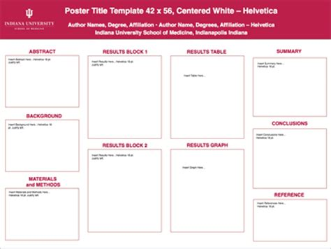 Powerpoint Poster Printing Office Of Visual Media Power Point Template Size