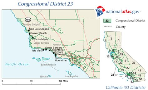 texas 23rd congressional district map california 23rd congressional district rep current 110th house