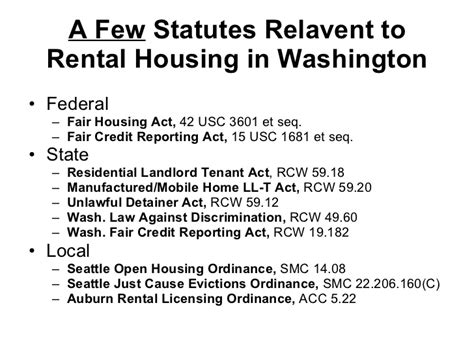 Fair Credit Reporting Act 15 Usc Section 1681 by Rental Housing Overview