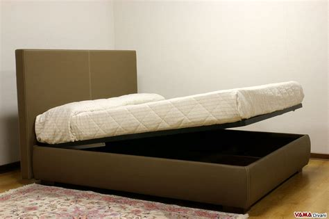 testa letto letto imbottito in tessuto con contenitore testata semplice