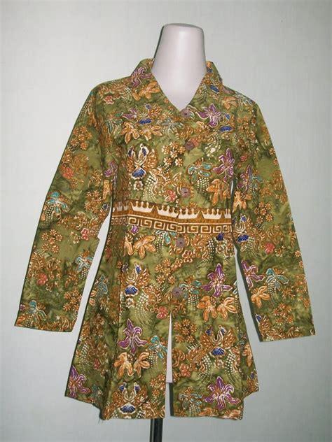 Jual Kemeja Batik Modern Kaskus by Gambar Busanamuslim 10 Koleksi Model Outer Batik Lengan