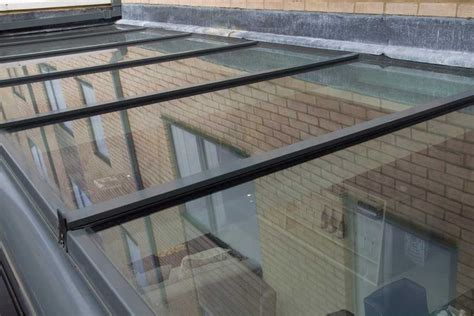glass lean to roof kit sunflex uk lean to glass roofs with thermally broken