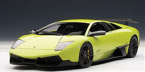 Lamborghini Murcielago Lp640 Sv Autoart Lamborghini Murcielago Lp640 4 Sv Verde Sandag