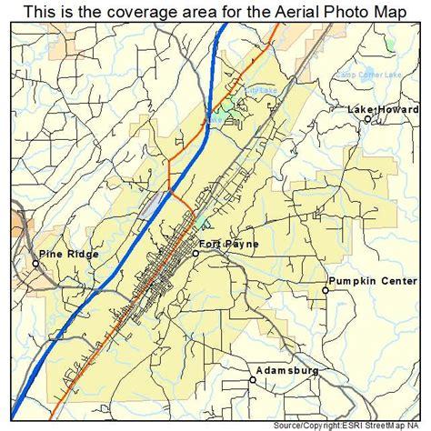 fort alabama map aerial photography map of fort payne al alabama