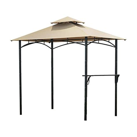 Gazebo Awning Replacement by Garden Winds Bamboo Look Bbq Gazebo Replacement Canopy Gazebos Patio And Furniture
