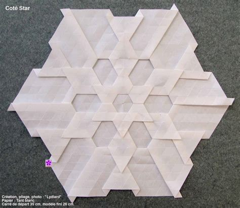 Origami Tessellation Diagrams - easy origami tessellation comot