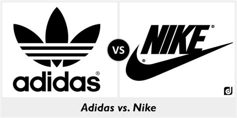 adidas vs nike comparison and contrast between nike and adidas