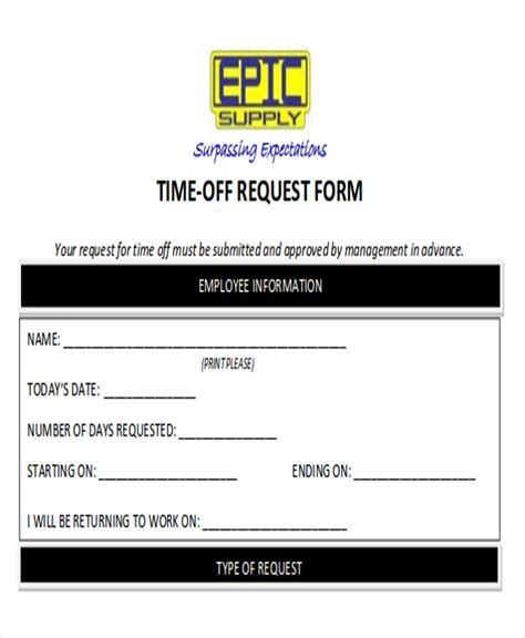 time request form sle day request form teacheng us
