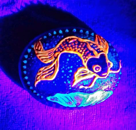 glow in the painted rocks 1430 best rock painting images on painted