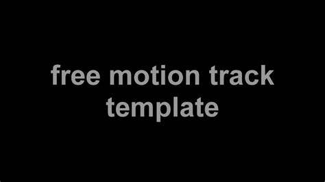 motion track template standoff motion track template by rxyce in