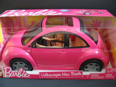 volkswagen beetle and doll set new volkswagen new beetle vw pink bug car doll