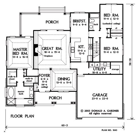 first floor plan house the lujack house plan images see photos of don gardner