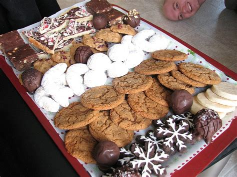 christmas cookie platter ideas cookie tray idea