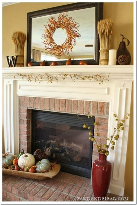 hearth decor 212 best fall mantle decorating ideas images on pinterest