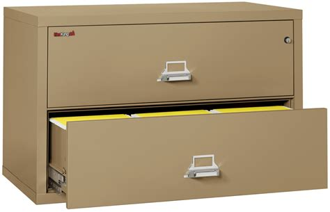 Fireproof Fireking 2 Drawer Lateral 44 Quot Wide File Cabinet Fireproof Lateral File Cabinets