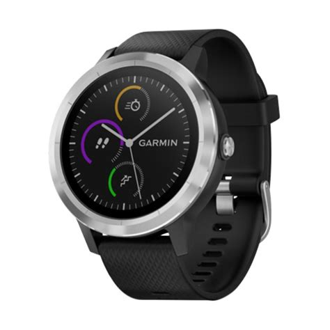 blibli garmin jual garmin vivoactive 3 with stainless smartwatch black
