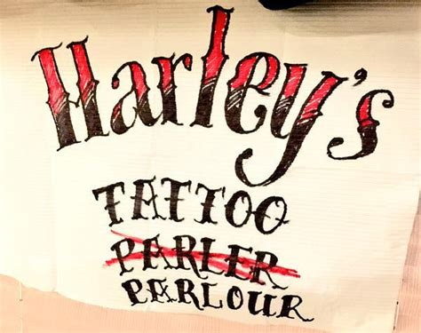 tattoo parlour queen west suicide squad harley s tattoo parlour is open for