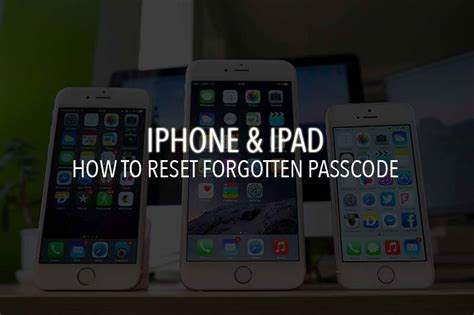 reset android to factory settings without password reset iphone ipad passcode forgot password on ios p