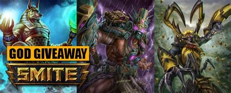Smite Codes Giveaway - smite free chaac anubis and ah muzen caab codes giveaway mmobomb com