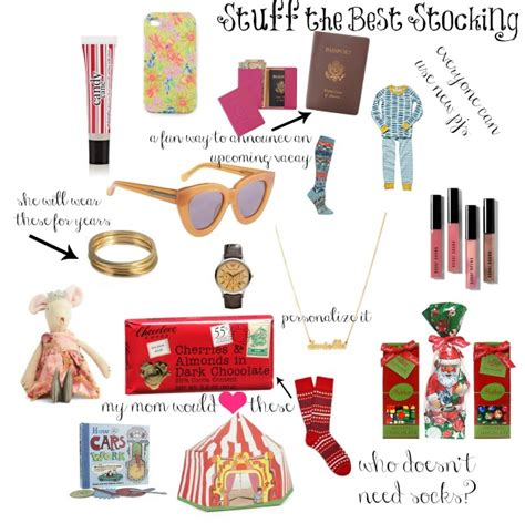 stocking stuffer stuffing the best stocking stocking stuffers 2012 chic