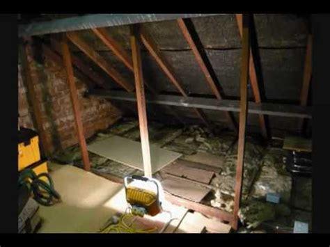 converting my attic part 1 YouTube