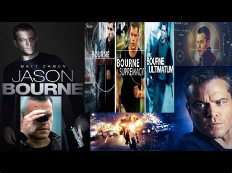 theme music bourne identity the bourne trilogy in 15mins ft matt damon the bourne