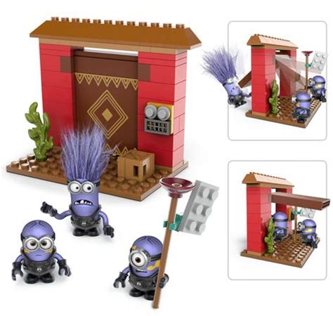 Mega Bloks Despicable Me Fortress Breakin Dkx77multicolor Mega Bloks Despicable Me Fortress In Playset