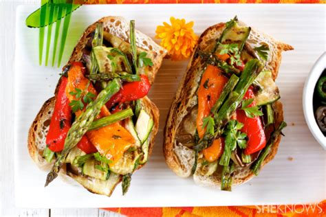 vegetables 65 recipe image gallery vegetable bruschetta