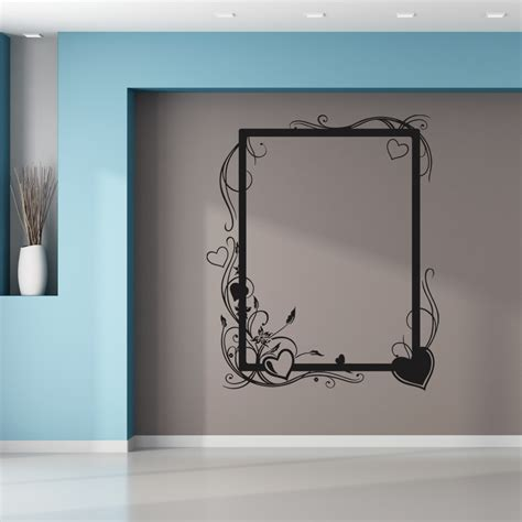 adesivi murali cornici adesivi follia adesivo murale cornice