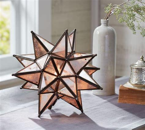moravian star light set moravian ambient light pottery barn