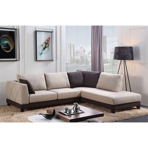 khaki sectional sofa khaki suede sectional sofa with shelter armrest and brown