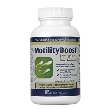 Motility Pack Fertilaid For Mtilityboost motilityboost for health point marthealth point mart